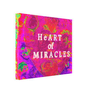 HeArt of Miracles Canvas Print