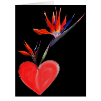Heart Of Paradise Card