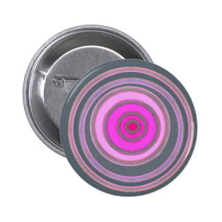 heart of pink 6 cm round badge