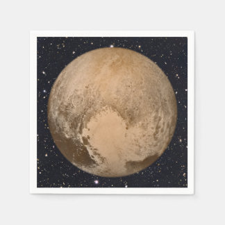 Heart of Pluto Starry Sky Disposable Napkin