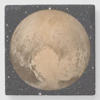 Heart of Pluto Starry Sky Stone Coaster
