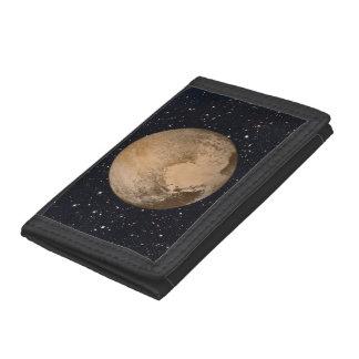Heart of Pluto Starry Sky Tri-fold Wallets