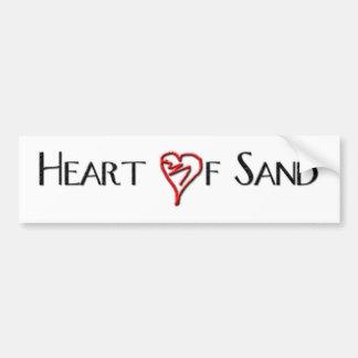 Heart Of Sand Plain Sticker Bumper Sticker