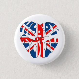 Heart Of Soul Union Jack Button