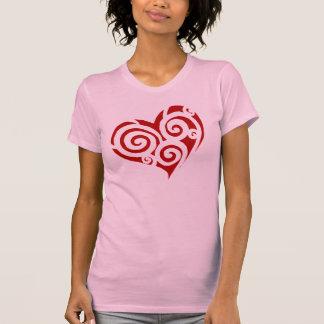 """Heart of Spirals, """"Crazy Love"""" T-Shirt"""
