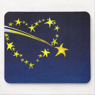 Heart Of Stars Mouse Pad