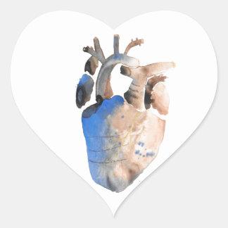 Heart of Stone Heart Sticker
