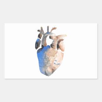 Heart of Stone Rectangular Sticker