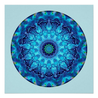 Heart of Surrender Mandala 5 Poster