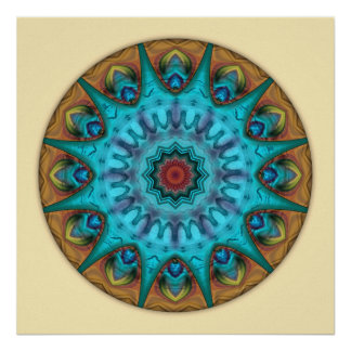 Heart of Surrender Mandala 6 Poster