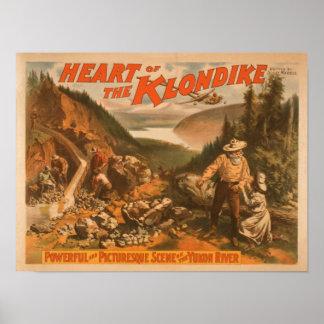 Heart of the Klondike Gold Mining Theatre Poster