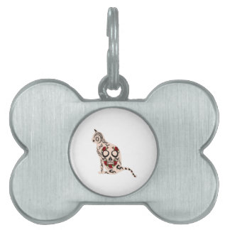 Heart of the Skull Pet ID Tag