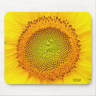 Heart of the Sunflower Mouse Pad