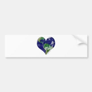 Heart of the World Bumper Sticker