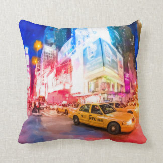 Heart of Times Square - NYC Cushion