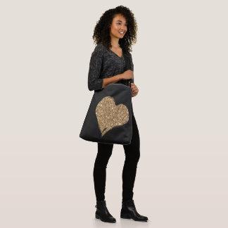 Heart O'Gold Crossbody Bag