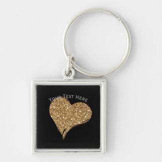 Heart O'Gold Key Ring