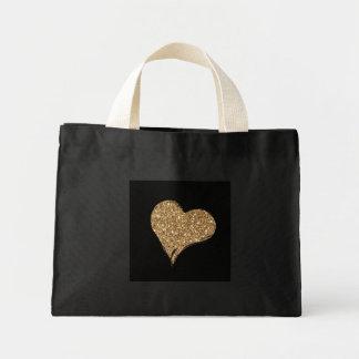 Heart O'Gold Mini Tote Bag