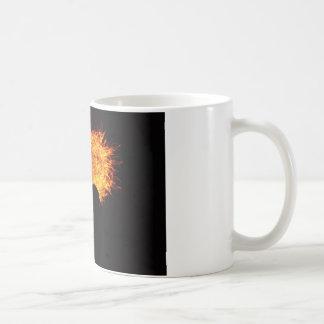 Heart on Fire Basic White Mug