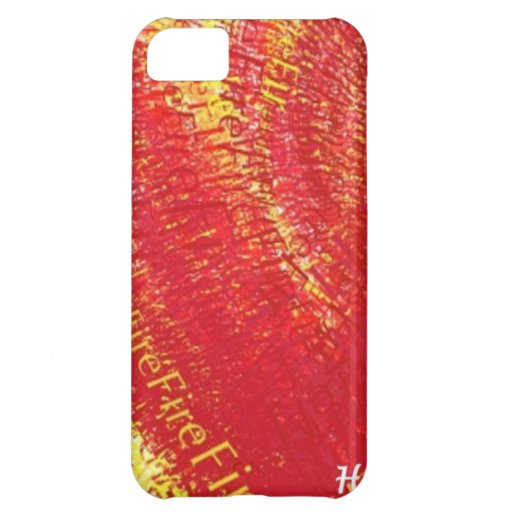 Heart on Fire! iPhone 5C Covers