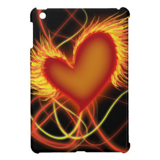 Heart on Fire Case For The iPad Mini