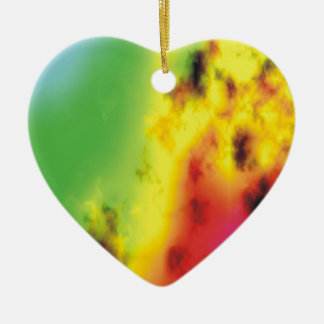 Heart on Fire Ornament
