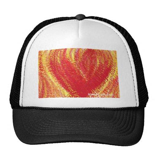 Heart on Fire! Mesh Hat