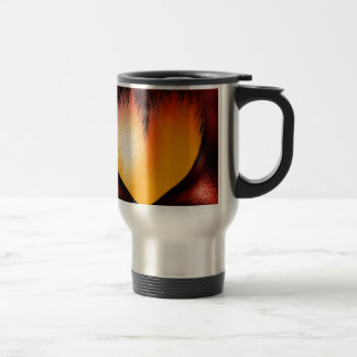 Heart on Fire! Coffee Mugs