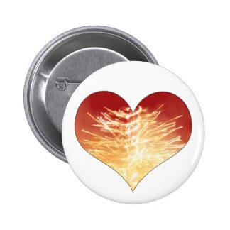 heart on fire pin