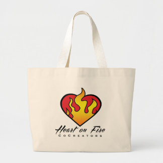 Heart on Fire Products Canvas Bag
