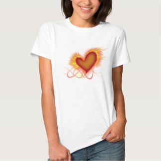Heart on Fire Shirts