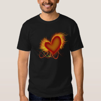 Heart on Fire Tshirts
