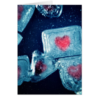 Heart on Ice Card