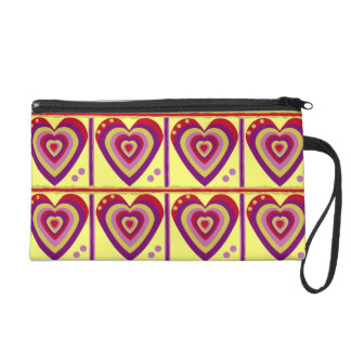 Heart on Your Sleeve Wristlet Clutches