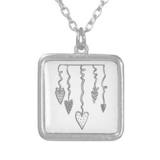Heart Ornament Necklaces
