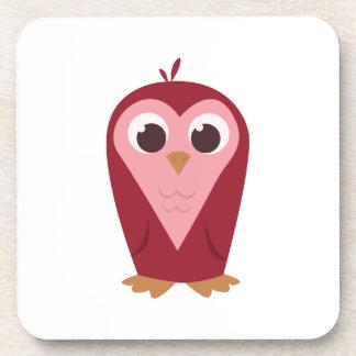 Heart Owl Coasters