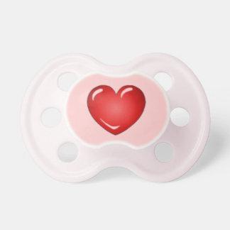 Heart Pacifier for Infant Girl