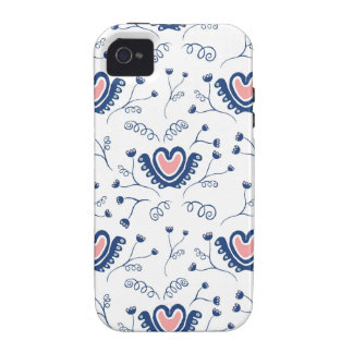 """Heart Pattern"" iPhone 4 Cases"