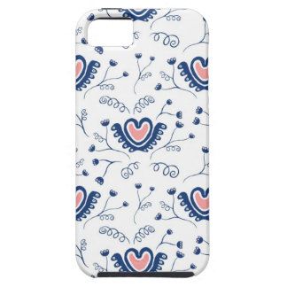 """""""Heart Pattern"""" iPhone 5 Cover"""
