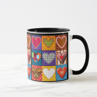 Heart pattern trendy coffee Mug