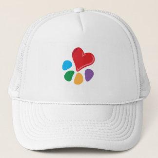 Heart-Paw Trucker Hat