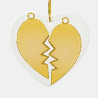 Heart Pendants Ceramic Heart Decoration