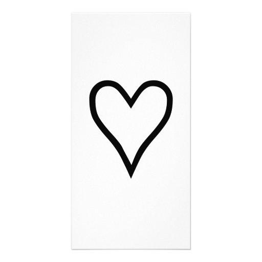 Heart Photo Cards