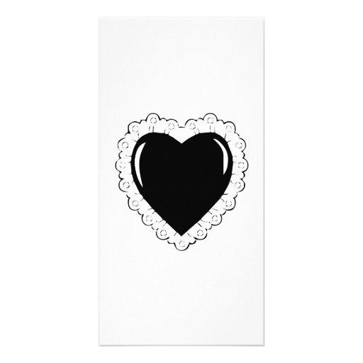 Heart Customized Photo Card