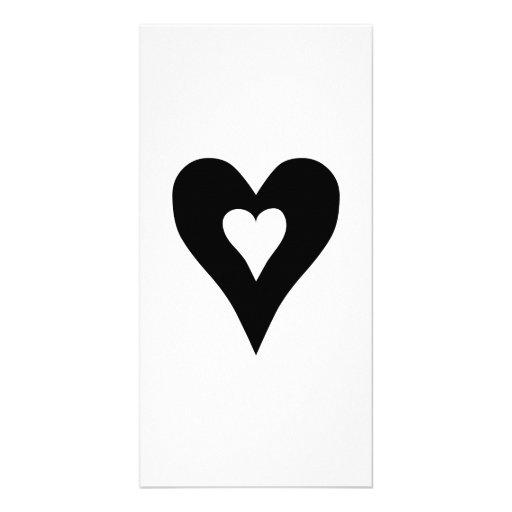 Heart Photo Card Template