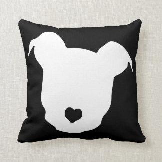 Heart ♥ Pit Bulls Cushion