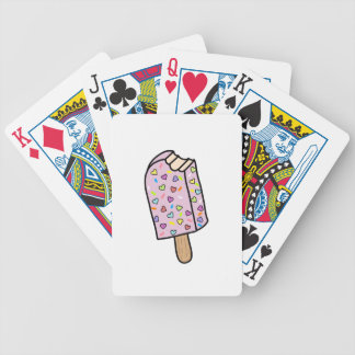 Heart Popsicle cute shirts, accessories, gifts Bicycle Playing Cards