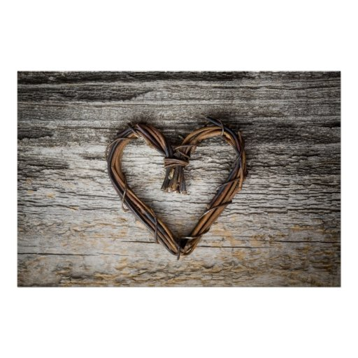 Heart poster/canvas print