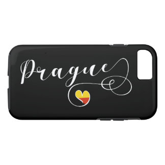Heart Prague Mobile Phone Case, Czech iPhone 8/7 Case