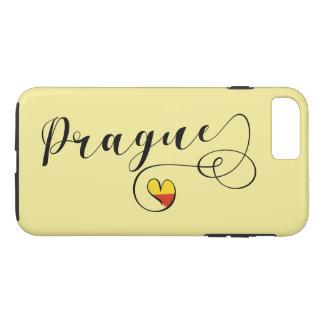 Heart Prague Mobile Phone Case, Czech iPhone 8 Plus/7 Plus Case